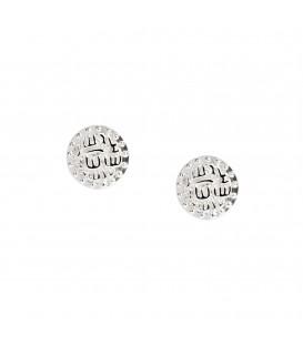 Muru Ancient Coin Stud Earrings