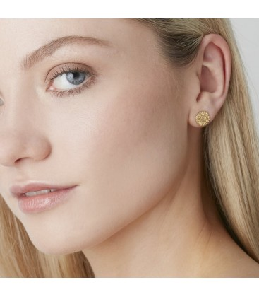 Muru Ancient Coin Studs Gold