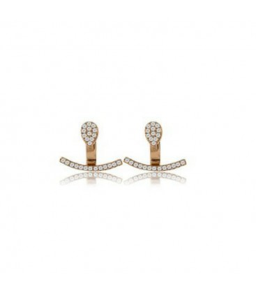 Penny Levi Pave Ear Cuffs