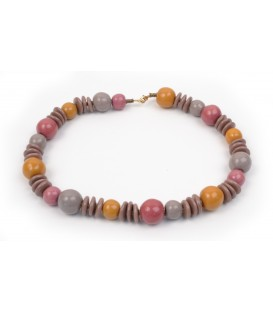 Khadija Saharan Pink Necklace