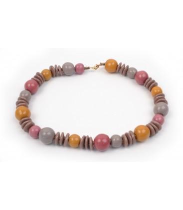 Khadija Saharan Pink Necklace