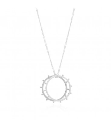 Rachel Jackson Punk Rings Necklace
