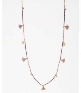 Mark Watson Sandra Tassel Necklace Amethyst