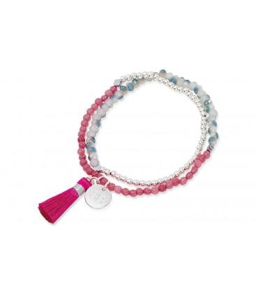 Boho Betty Classic Tassel 2 Wrap Bracelet