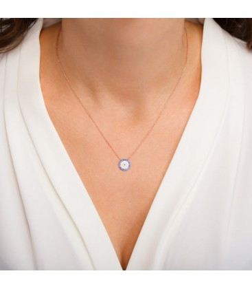 Classic Round Eye Necklace