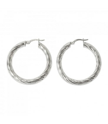 Lucky Eyes hoops
