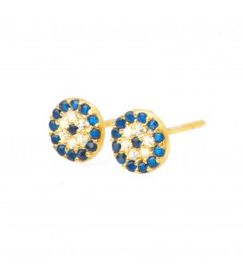 Lucky Eyes Classic Evil Eye Studs