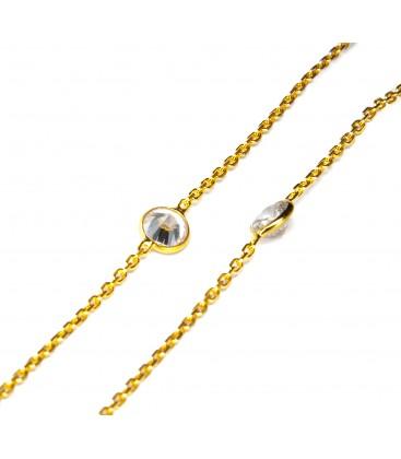 Short Chelsea Necklace Gold