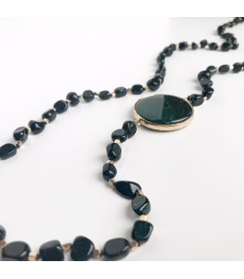 Bcharmd Stanwyck Green Sandstone Necklace