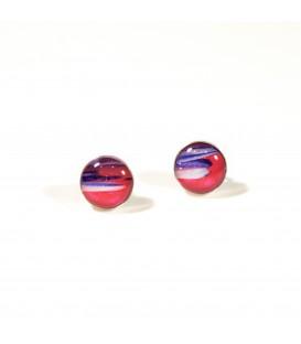 JoJo Blue Multi Stud Earrings