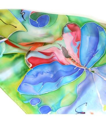 JoJo Blue Butterfly Scarf