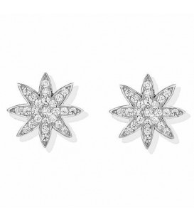 Vixi Nova Stud Earrings Silver