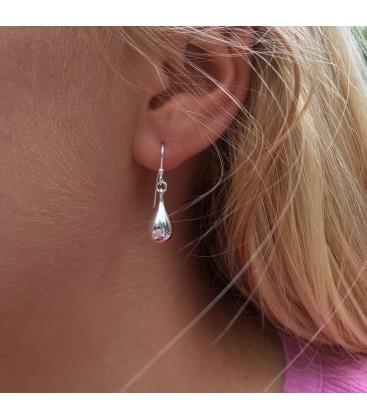 Reeves & Reeves Silver Teardrop Earrings