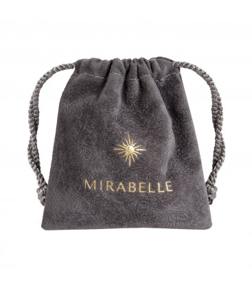 Mirabelle Petal Star Cross Enamel Medal Royal Blue