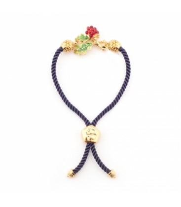 Wild Berry Friendship Bracelet