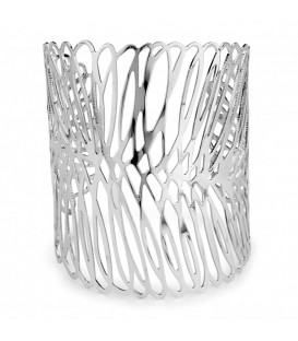 Rhodium Statement Bracelet