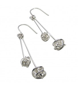 Tara Kirkpatrick Double Drop Earrings