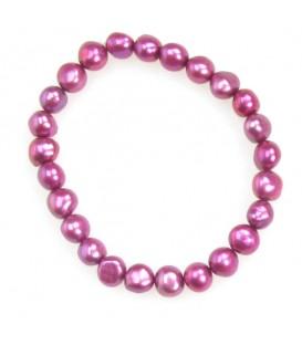 Berry Elastic Pearl Bracelet