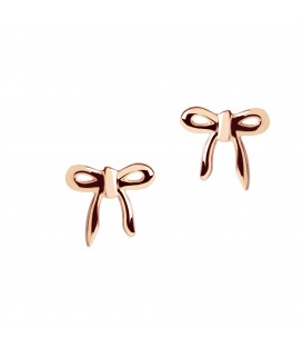 Muru Bow Studs Rose Gold