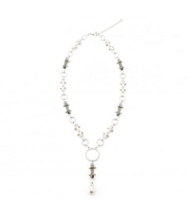 Manhattan Crystal Statement Necklace