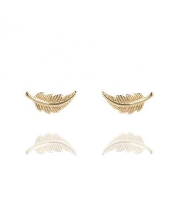 Muru Feather Stud Earrings