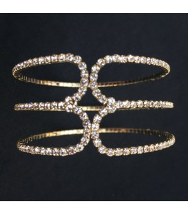 Crystal Embellished Cuff